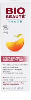 Bio Beauté by Nuxe Moisturizers crema hidratante suavizante con células activas de clementina