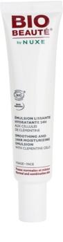 Bio Beauté by Nuxe Moisturizers emulsione lisciante idratante con cellule di clementina