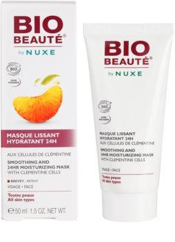 Bio Beauté by Nuxe Moisturizers hydratačná vyhladzujúca maska s dužinou z klementíniek