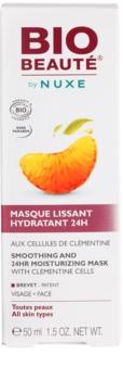 Bio Beauté by Nuxe Moisturizers mascarilla hidratante alisadora  con pulpa de clementina