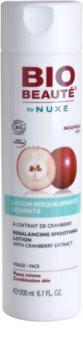 Bio Beauté by Nuxe Rebalancing vyrovnávací a vyhlazující pleťová voda s brusinkovým extraktem