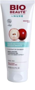 Bio Beauté by Nuxe Rebalancing gelée nettoyante rééquilibrante à l'extrait de cranberry
