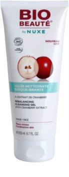 Bio Beauté by Nuxe Rebalancing vyrovnávací čisticí gel s brusinkovým extraktem
