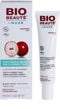 Bio Beauté by Nuxe Rebalancing vyrovnávací korekčný krém s brusnicovým extraktom