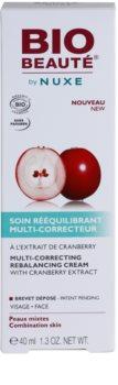 Bio Beauté by Nuxe Rebalancing vyrovnávací korekční krém s brusinkovým extraktem
