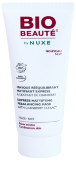 Bio Beauté by Nuxe Rebalancing Mattifying Face Mask with Cranberry Extract for Pore Tightening