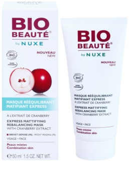 Bio Beauté by Nuxe Rebalancing matirajoča maska z izvlečkom brusnic za zmanjšanje por