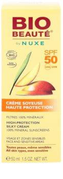 Bio Beauté by Nuxe Sun Care minerální ochranný krém na obličej a citlivé partie SPF50