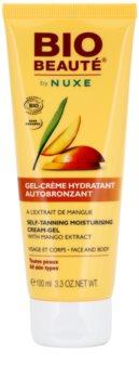 Bio Beauté by Nuxe Sun Care crème-gel hydratante auto-bronzante à l'extrait de mangue