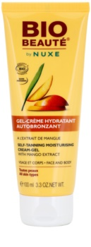 Bio Beauté by Nuxe Sun Care Zelfbruinende Hydraterende Gelcrème met Mango Extract
