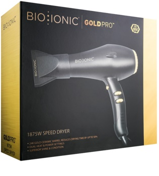 Bio Ionic GoldPro 1875 W Speed Dryer suszarka do włosów