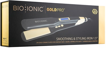 Bio Ionic GoldPro Smoothing & Styling Iron žehlička na vlasy