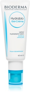 Bioderma Hydrabio Gel-Crème gyengéd és hidratáló géles krém normál víz normál és kombinált, érzékeny bőrre