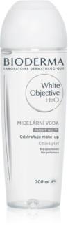 Bioderma White Objective tisztító micelláris víz a pigment foltok ellen