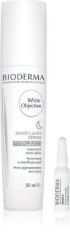 Bioderma White Objective éjszakai bőrvilágosító szérum a pigment foltok ellen