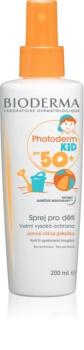 Bioderma Photoderm Kid zaščitno pršilo za otroke SPF 50+