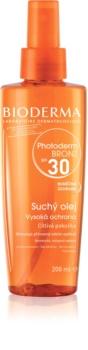 Bioderma Photoderm Bronz olio secco protettivo in spray per stimolare e prolungare l'abbronzatura naturale SPF 30