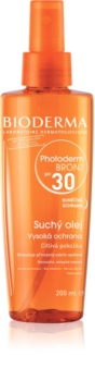 Bioderma Photoderm Bronz Tan-Prolonging Protective Dry Oil in Spray SPF 30