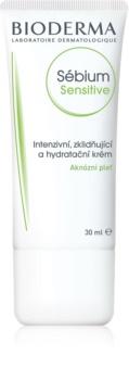 Bioderma Sébium Sensitive Intensive Feuchtigkeit spendende und beruhigende Creme für durch die Akne Behandlung trockene und irritierte Haut