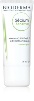 Bioderma Sébium Sensitive trattamento calmante anti-imperfezioni per pelli secche e irritate dal trattamento antiacne