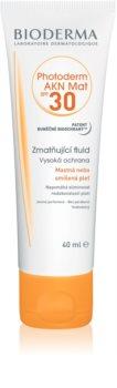 Bioderma Photoderm AKN fluide matifiant protecteur visage SPF30