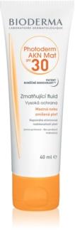 Bioderma Photoderm AKN Mat fluido protector matificante para rostro SPF 30