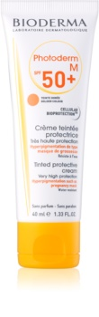 Bioderma Photoderm M schützende Tönungscreme gegen Pigmentflecken SPF 50+
