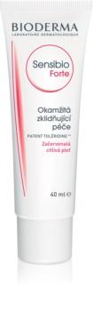 Bioderma Sensibio Forte crema idratante e lenitiva per pelli sensibili con tendenza all'arrossamento