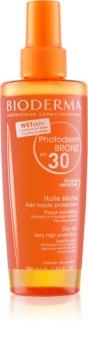 Bioderma Photoderm Bronz huile sèche protectrice en spray SPF 30