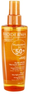 Bioderma Photoderm Bronz suchý olej na opalování SPF 50+