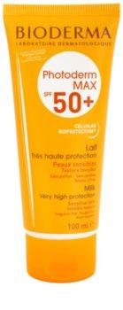 Bioderma Photoderm Max latte abbronzante per pelli intolleranti SPF 50+