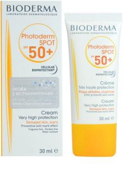 Bioderma Photoderm Spot napozó krém a sötét foltok ellen SPF50+