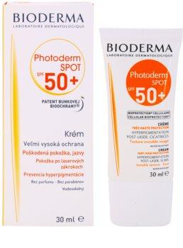 Bioderma Photoderm Spot крем для засмаги проти пігментних плям SPF 50+