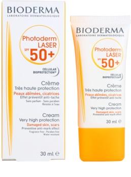 Bioderma Photoderm Laser αντηλιακή κρέμα κατά των στιγμάτων SPF 50+