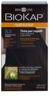 Biokap Nutricolor permanentní barva na vlasy s arganovým olejem
