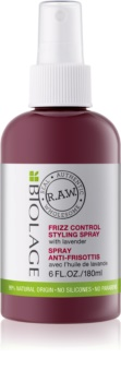Biolage RAW Styling Spray gegen splissiges Haar mit Lavendel