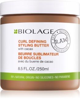 Biolage RAW Styling stylingové maslo pre definíciu vĺn s kakaom