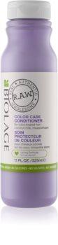 Biolage RAW Color Care après-shampoing pour cheveux colorés