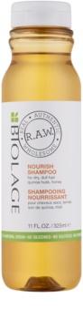 Biolage RAW Nourish shampoo nutriente per capelli secchi e grossi