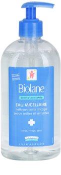Biolane Dermo-Pediatrics reinigendes Mizellenwasser für trockene und empfindliche Haut