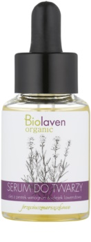 Biolaven Face Care hydratisierendes Antifaltenserum mit Lavendel