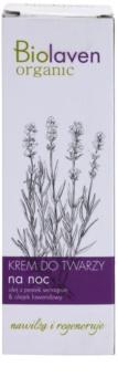 Biolaven Face Care erneuernde Nachtcreme mit Lavendel