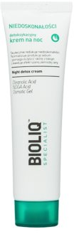 Bioliq Specialist Imperfections Detoxifying Night Cream with Moisturizing Effect
