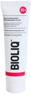 Bioliq 35+ regenerierende Nachtcreme gegen Falten