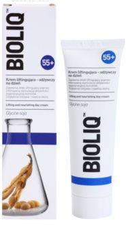 Bioliq 55+ crema nutriente effetto lifting per la ristrutturazione e tensione intensa della pelle