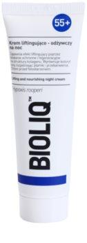 Bioliq 55+ crème de nuit intense pour la régénération de la peau