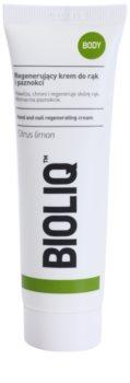Bioliq Body regenerierende Creme für Hände und Fingernägel