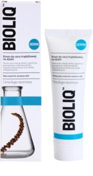 Bioliq Dermo crème antibactérienne  pour peaux à tendance acnéique