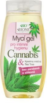 Bione Cosmetics Cannabis gel de toilette intime