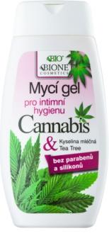 Bione Cosmetics Cannabis гел за интимна хигиена